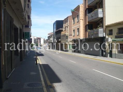 Calle Filiberto Villalobos de Guijuelo.