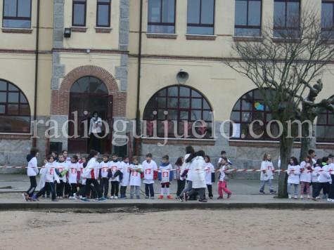 Celebración del Día de la paz en el Filiberto Villalobos.