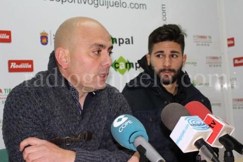 Chema Aragón y Néstor Gordillo.