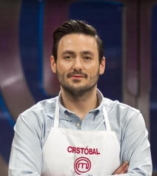 El cocinero Cristóbal Gómez .
