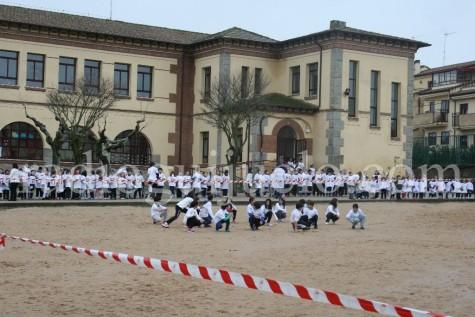 Día de la Paz en el colegio Filiberto Villalobos.