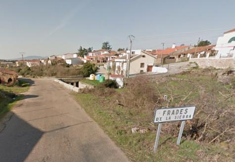 Frades de la Sierra. Foto Google Maps.