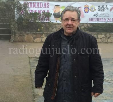 Jesús Merino organizador de la Matanza Tradicional