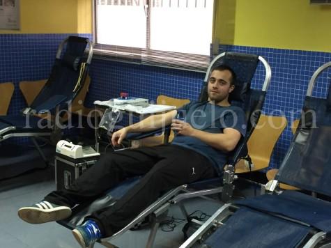 Un donante de Guijuelo