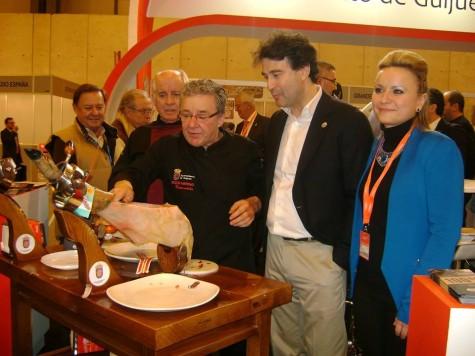 Guijueo en Fitur. Foto FIC.