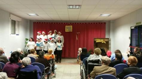 Actividades navideñas en la Residencia de Guijuelo.