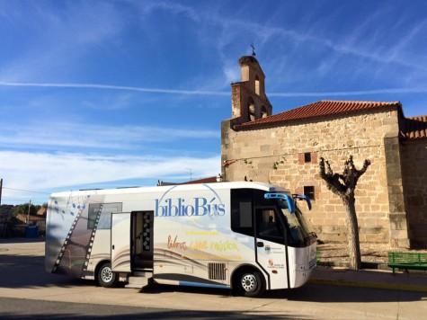 Bibliobús de la Diputación de Salamanca. Foto Diputación de Salamanca