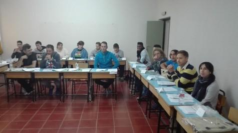 Alumnos del curso de monitor deportivo. Foto Diputación de Salamanca.