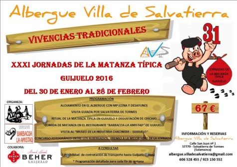 vierens matanza ALBERGUE SALVATIERRA