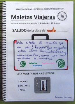 Maletas Viajeras. Foto Miguel de Cervantes.