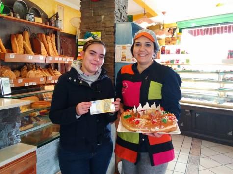 Ganadora del premio de Pastelería Sancho