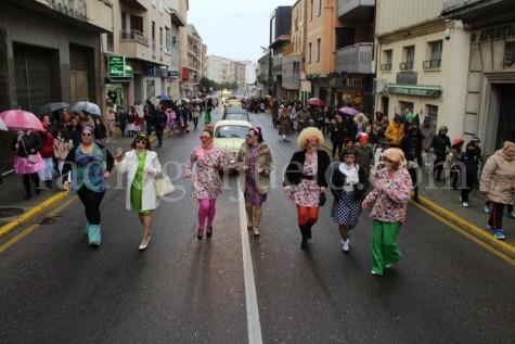 Desfile del lunes de Carnaval.