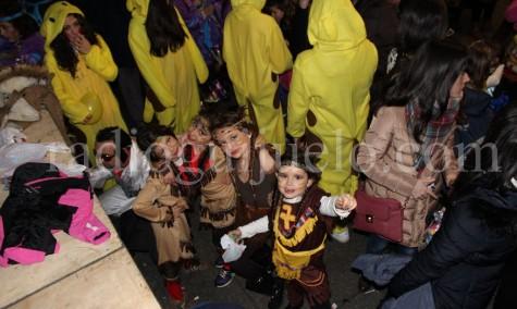 Los niños protagonistas del lunes de Carnaval