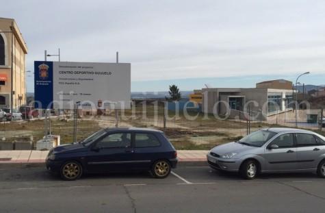 Lugar donde se ubicará el nuevo centro deportivo de Guijuelo.