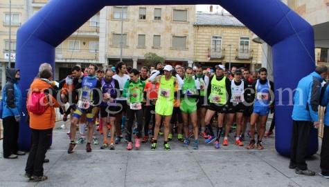 Salida de la II Edición de la Media Maratón. Foto archivo.
