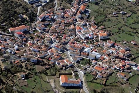 Vista aéra de Ledrada Foto Mapio.net