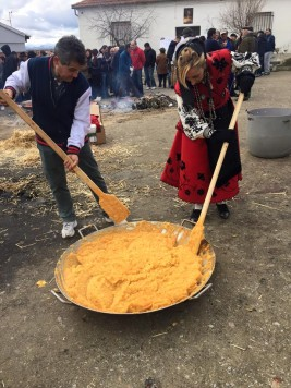 Matanza en Berrocal. Foto Julián Martín.