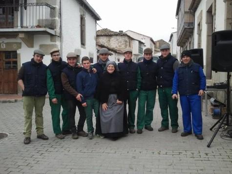 Matanza en Santibañez de Béjar. Foto Amaia Arman.