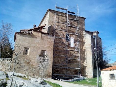 Iglesia de Puente del Congosto. Foto Puente del Congosto.