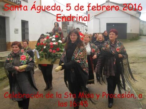 Águedas en Endrianl. Foto María Teresa García.