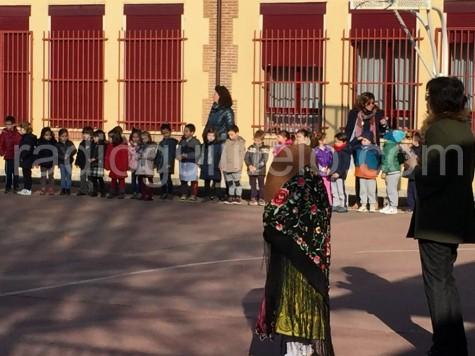 Actividad de la Semana Cultural en el Filiberto Villalobos.