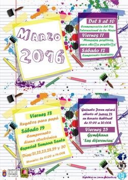 Agenda marzo GUIJUELO JOVEN