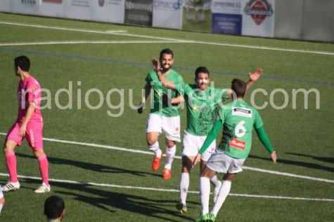 Antonio Moreno autor del gol ante el Compostela