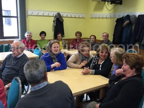 Asamblea de socios del Hogar del Jubilado.