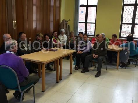 Asamblea de socios del Hogar del Jubilado de Guijuelo.