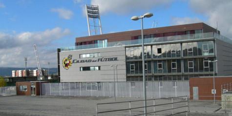 Ciudad del Fútbol en Las Rozas. Foto estadiodeportivo.com.