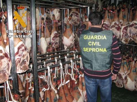 Operación Suido. Foto Guardia Civil