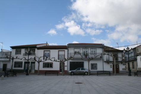 Plaza Mayor de Santibañez de Béjar. Foto ayuntamiento.org.