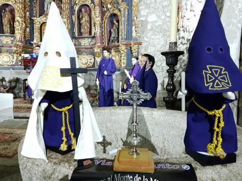 Semana Santa en Ledrada. Foto Ayto. Ledrada.