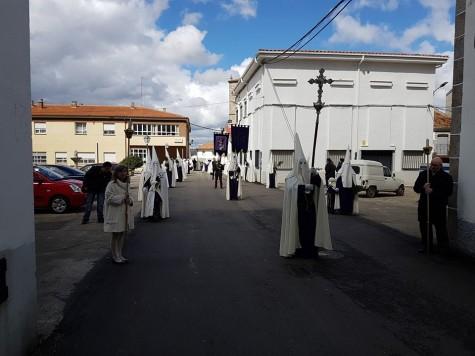 Semana Santa en la localidad de Ledrada. Foto Ayto. Ledrada.