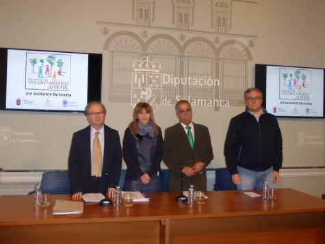 Presentación del Programa Los Secretos de Tonda en la Diputación de Salamanca. Foto Diputación de Salamanca.