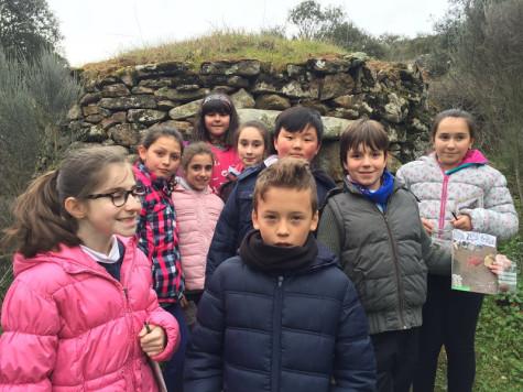 Excursión de esta semana de los alumnos del Miguel de Cervantes. Foto M. C.