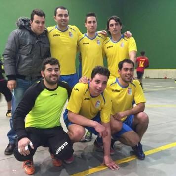Equipo de Linares de fútbol sala. Foto Ayto. Linares.