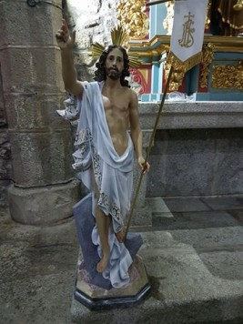 Cristo Resucitado. Foto Ayto. Ledrada