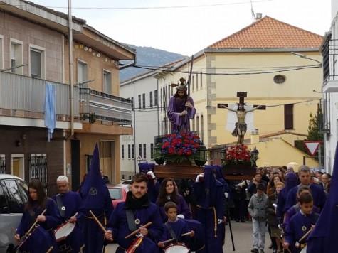 Semana Santa en Ledrada. Foto Ayto. Ledrada