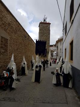 Domingo de Ramos en Ledrada. Foto Ayto. Ledrada
