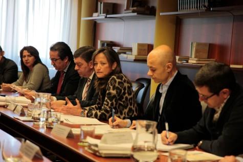 Grupo de trabajo de la Ordenación del Territorio y Administración Local. Foto Junta CyL