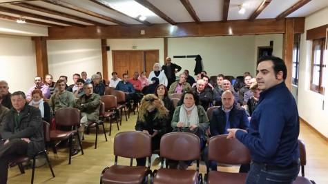 Asamblea de la Asociación de la Ruta del Vino de la Sierra de Francia. Foto Asocación Ruta del Vino