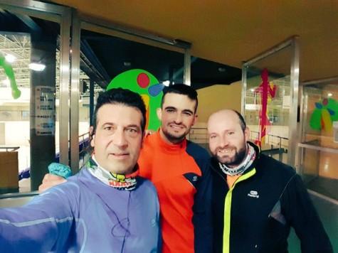 Integrantes del club atletismo Guijuelo. C.A.G.