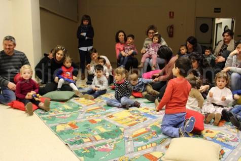 Actividad en la Biblioteca Municipal.