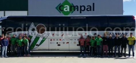 Autobús CD Guijuelo.