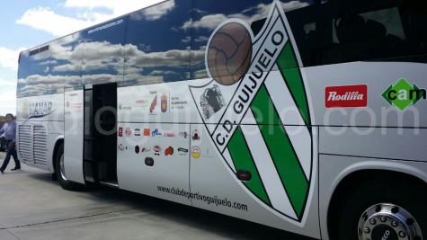Autobús oficial CD Guijuelo.