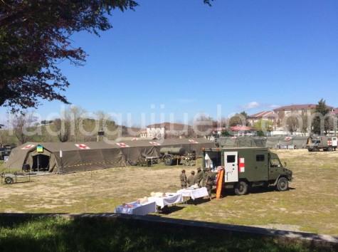 Jornadas Sanitarias del Ejército en Armenteros