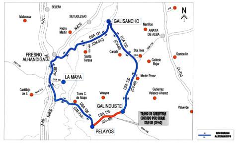 Mapa carreteras