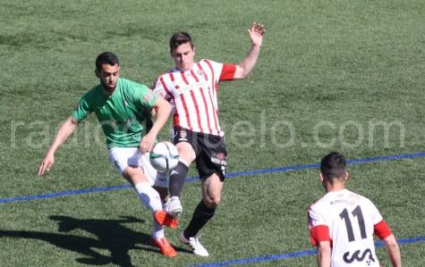 Pino autor del gol ante el Logroñés.
