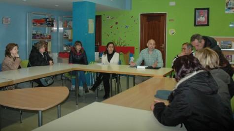 Reunión de vecinos del Barrio San José en el Centro Cultural.